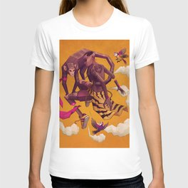 Kid and Monkey T-shirt