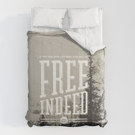 Free Indeed - Photo Comforters