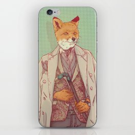 Jay the Fox iPhone Skin