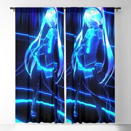 Hatsune Miku Blackout Curtain