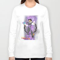 dbz Long Sleeve T-shirts featuring DBZ Tesla by Hushy