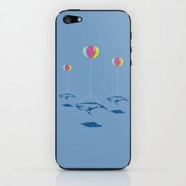 Whale Riders! iPhone Skin