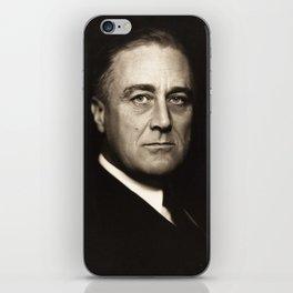 Franklin D. Roosevelt, about 1932 iPhone Skin