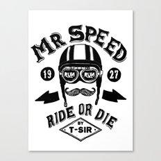 Mr. Speed Canvas Print
