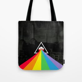 Floydian collage PinkFloyd Tote Bag