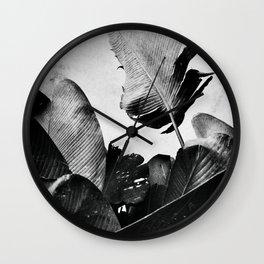Palm Retro Wall Clock