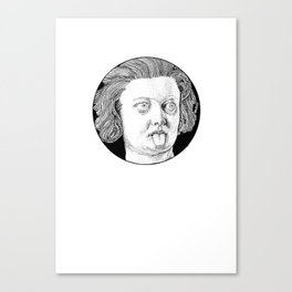 Costanza's Tongue Canvas Print