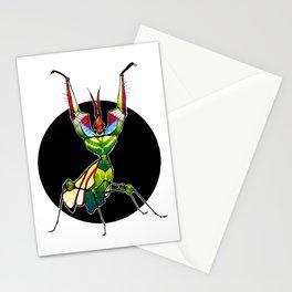 Devil's Flower Mantis (Idolomantis diabolica)  |  BUGSPOTTING SERIES Stationery Cards