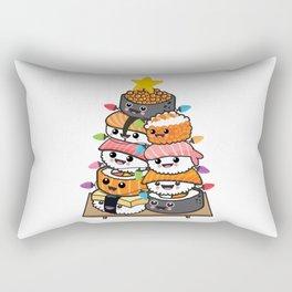 Sushi Xmas tree Rectangular Pillow