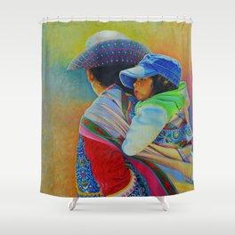 Bajo el sol de Arequipa Shower Curtain