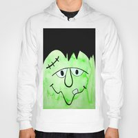 frankenstein Hoodies featuring Frankenstein by HollyJonesEcu