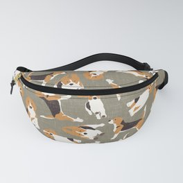 beagle scatter stone Fanny Pack