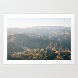 Camino Cielo 02 Art Print