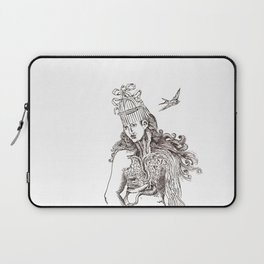 unlocking birds Laptop Sleeve