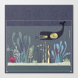 The Fishtank Canvas Print