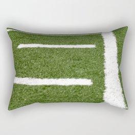 Football Lines Rectangular Pillow