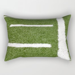 Football Lines Rectangular Pillow