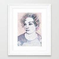 boy Framed Art Prints featuring BOY by Laura O'Connor