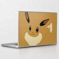 sylveon Laptop & iPad Skins featuring Eevee PKMN by Rebekhaart