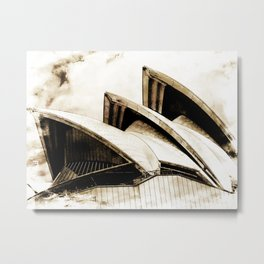 Sydney Opera House  Collection IV Metal Print