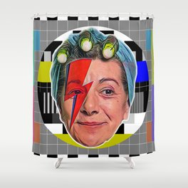 Hilda's Night Out Shower Curtain