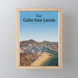 Visit Cabo San Lucas Framed Mini Art Print