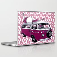 hippy Laptop & iPad Skins featuring Hippy cat by Graziano Ventroni