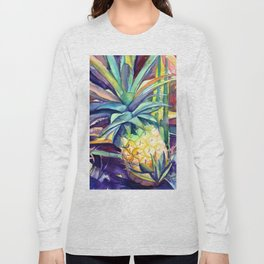 Kauai Pineapple 4 Long Sleeve T-shirt