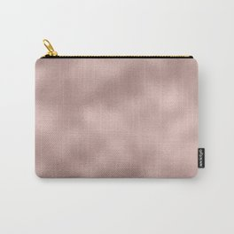 Rose gold - Smooth Champagne Pink Carry-All Pouch