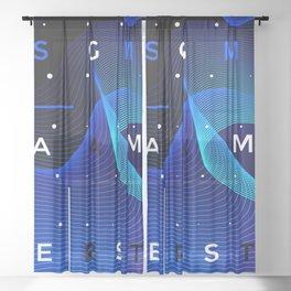 Smart games Sheer Curtain