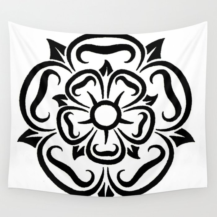 compass rose design wall tapestry by jsharts society6