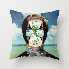 All It Remains - PAINTING Throw Pillow
