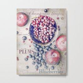 Fruitful Metal Print