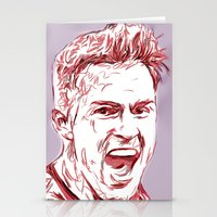 arsenal Stationery Cards featuring Ramsey by ArsenalArtz