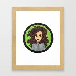 Bellatrix Black Framed Art Print
