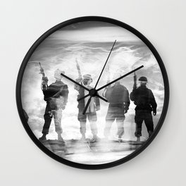 BAND OF BROTHERS Wall Clock