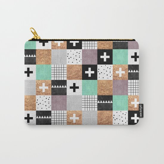 Squares 001 Carry-All Pouch