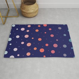 Outer Space Sunrise Rug