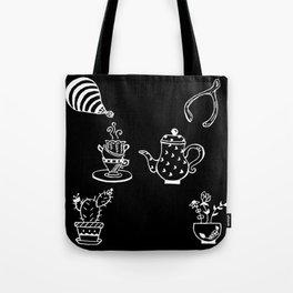 Whimsical Themed Illustration Tote Bag