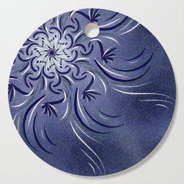 Lavender Flourish Cutting Board