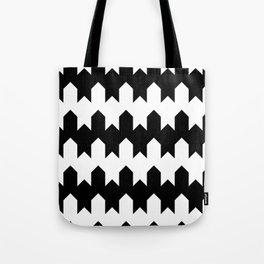 BW Tessellation 4 4 Tote Bag