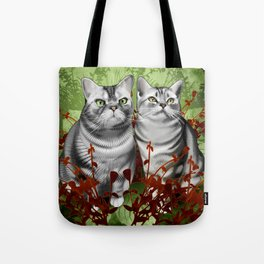 Perry and Monty Tote Bag