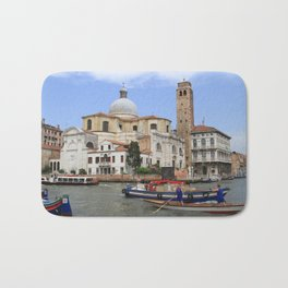 Rush hour in Venice Bath Mat