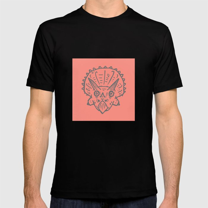 4b1473417449 Asteroid Anxiety - Triceratops T-shirt by tanimator | Society6