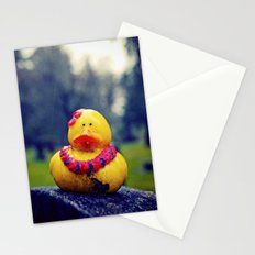 Lonely duck Stationery Cards