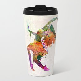 dancing to the night  Travel Mug