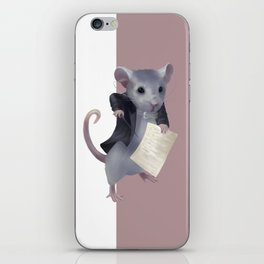 Mouse composer  iPhone Skin