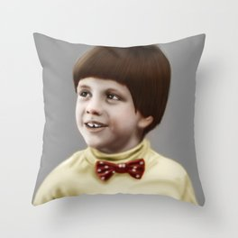 Problem Child Throw Pillow
