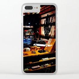 Drive Through Shopping Clear iPhone Case