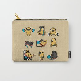 Pug Leg Day Carry-All Pouch